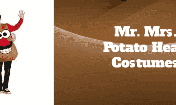 Mr. Mrs. Potato Head Costumes