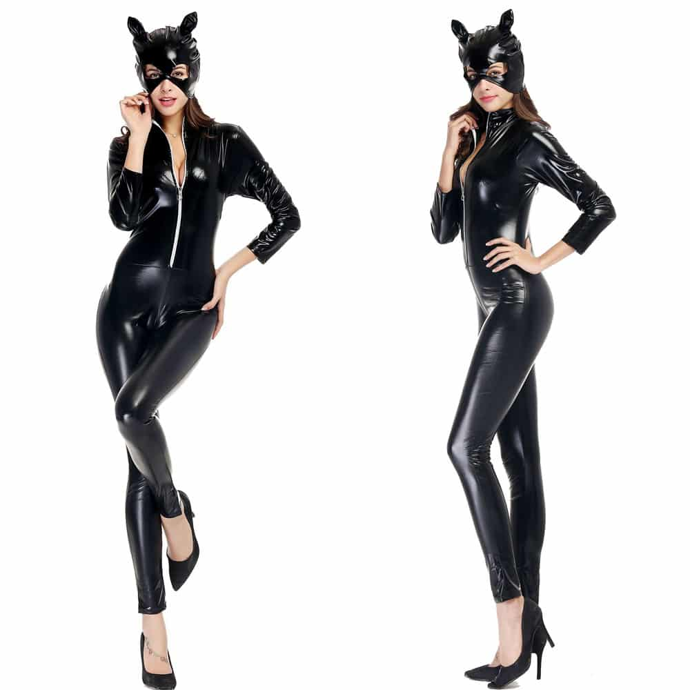 374146a6f Halloween Costumes Adult Women Deluxe Leather Rider Motorcycle ...