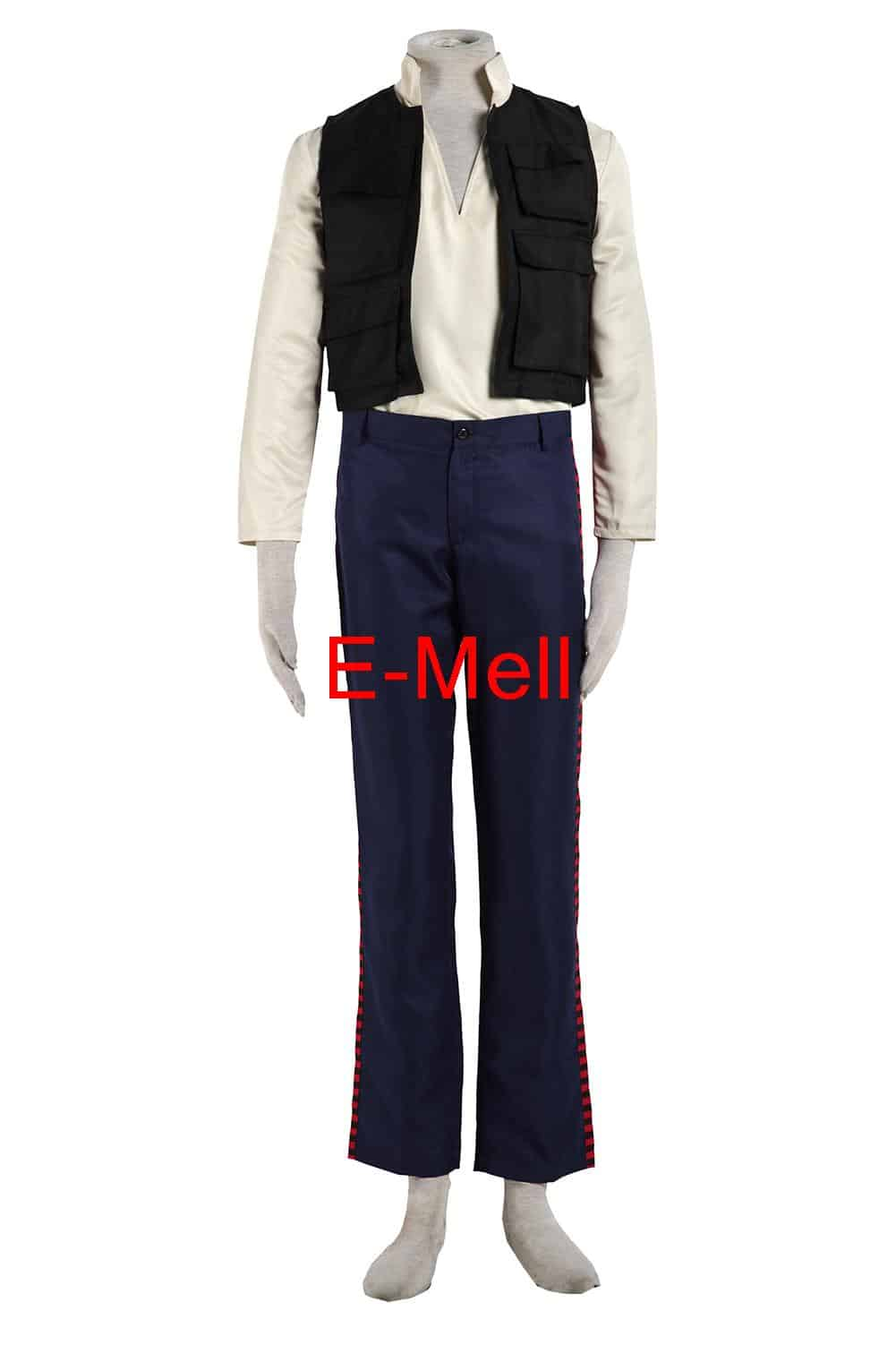Star Han Solo Cosplay Costume Halloween Costumes Men Full Set