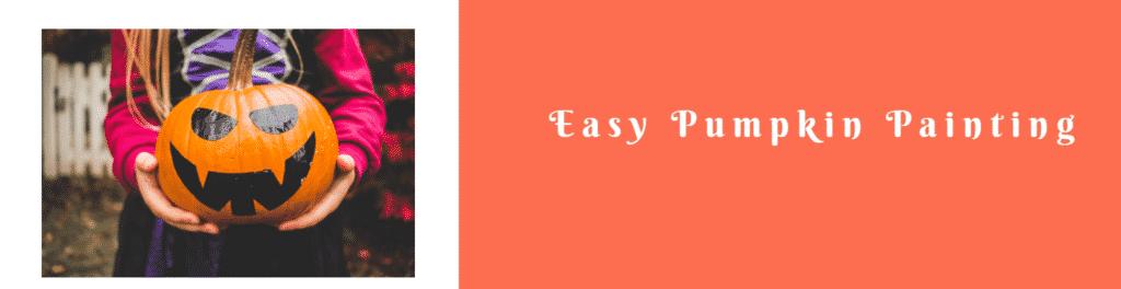 Easy Pumpkin Painting