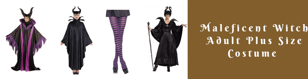 Maleficent Witch Adult Plus Size Costume