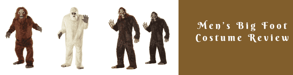Men's Big Foot Costume Review