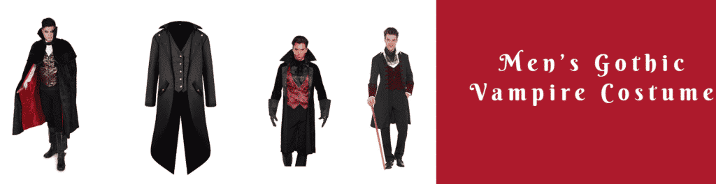 Men's Gothic Vampire Costume