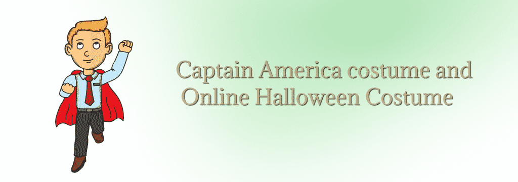 Captain America costume and Online