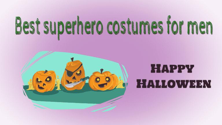 superhero costumes for men