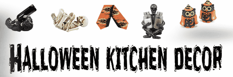 Halloween kitchen decor