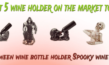 Spooky wine holder