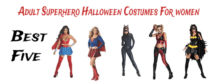 Adult Superhero Halloween Costumes For women